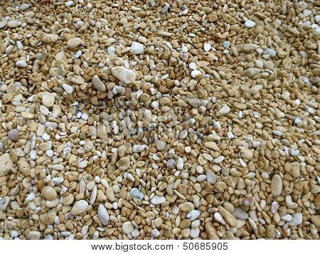 Beach pebbles/stones