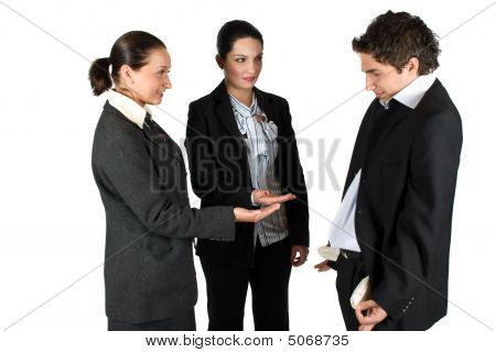 Broke Business People