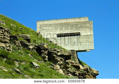 :Monument to defenders of the passes of the Caucasus.
