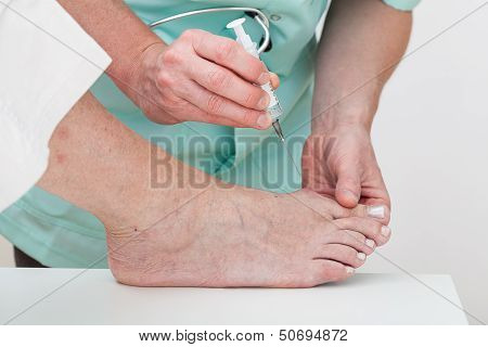 Foot Injection