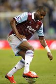 BARCELONA - SEPTEMBER, 5: Ricardo Vaz Te of West Ham United in action during a friendly match agains