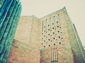 Retro Look Coventry Cathedral