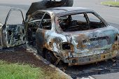 Burnt Car Wreck