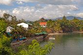 pic of luzon  - Scenic view of Subic Bay Luzon Philippine Islands - JPG