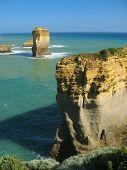 stock photo of razorback  - this is on the great ocean road australia - JPG