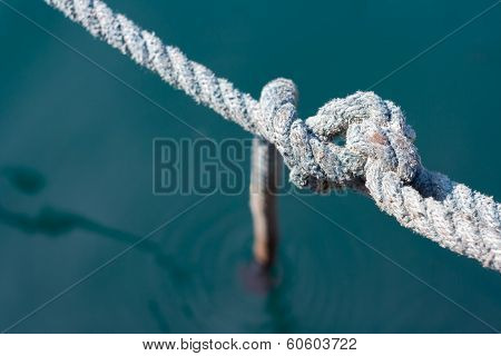 Rope node blue line water integrity