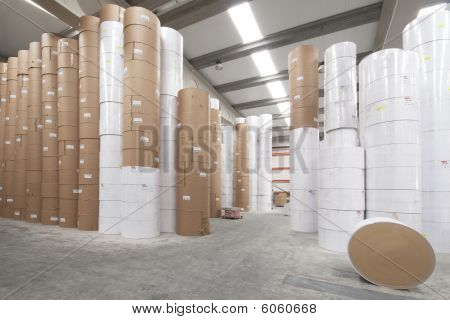 Paper Rolls Warehouse