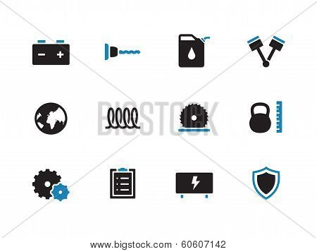 Tools duoicons on white background.