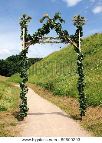Gates For Jonas At Kernave