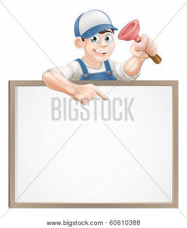 Plumber Sign
