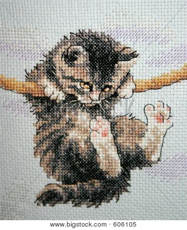 Sewn Kitten