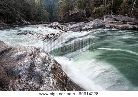 River Whitewater Waterfall Chattooga River