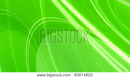 Green Glossy Elegant Abstract Background