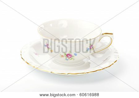 Beautiful vintage cup and saucer