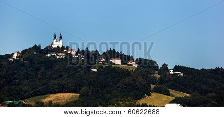 the capital of upper austria in austria is linz. poestlingberg