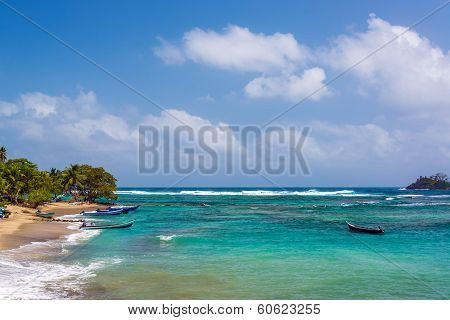 Beautiful Caribbean Water