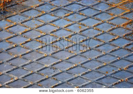 Diamant-Metall-Hintergrund