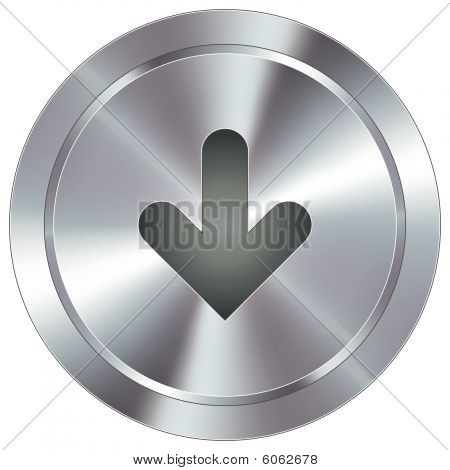 Modern down arrow button