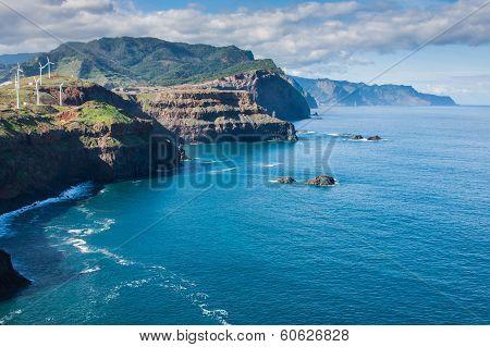 East coast of Madeira island  Ponta de Sao Lourenco