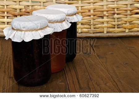 Set Of Three Conserve Jars