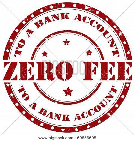 Zero Fee-stamp