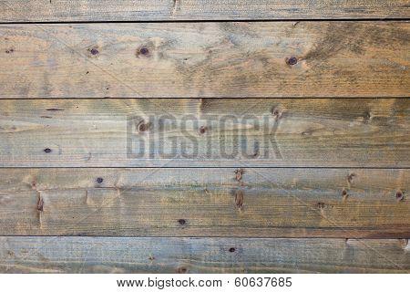 Horizontal Worn Plank Wall