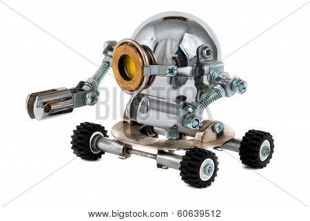 Steampunk Robot.