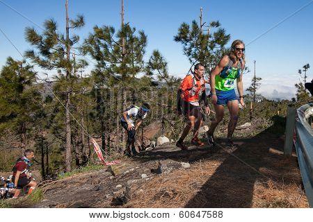 Ultra Transgrancanaria Maraton 2014.