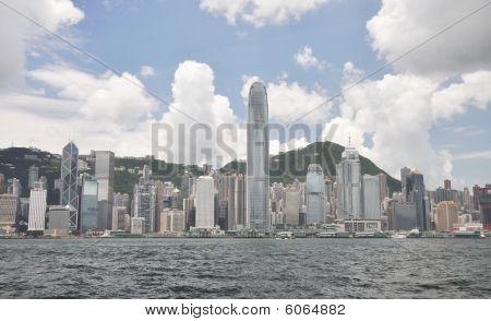 Hongkong City Day View