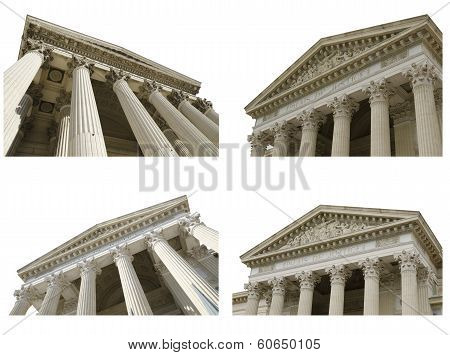 Courthouses Collage