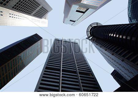 Raffles Place. Singapore