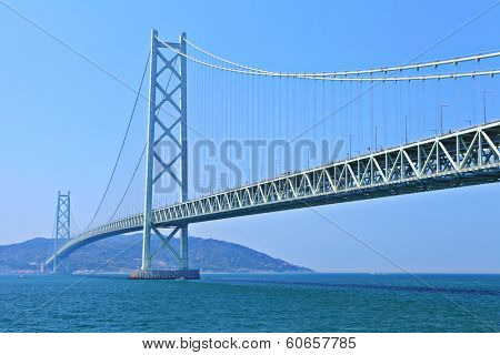 Suspension bridge in Kobe