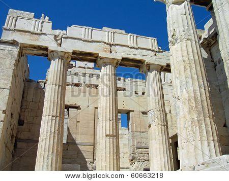 Propylaea of the Acropolis, Athens, Greece