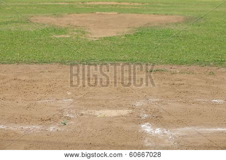 Baseball Pitching mound
