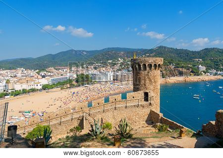 Tossa De Mar. Costa Brava, Spain