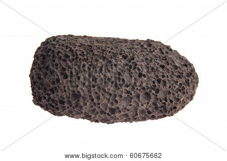 Pumice Stone Isolated On White Background