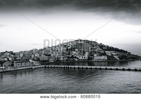 Scenic View Of Kusadasi City