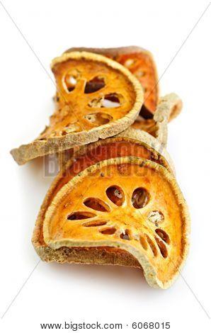Dried Bael Fruit