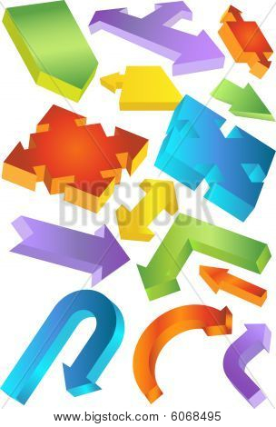 chart arrow set