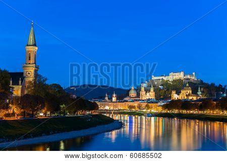 Austrian city Salzburg