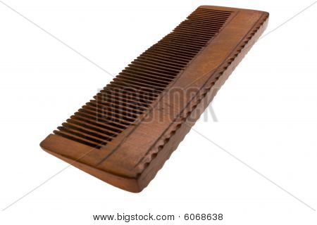 Old Wooden Hairbrush