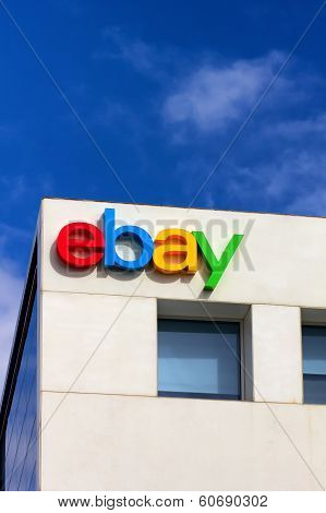 Ebay Corporate Headquarters Sign