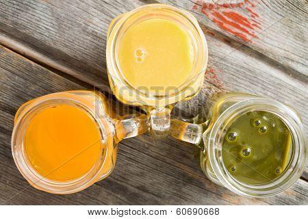 Freshly Liquidised Tropical Fruit Juice