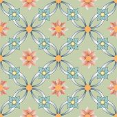 pic of brocade  - Background vintage flower - JPG