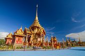 image of crematory  - The crematory for only Thai royal family members - JPG