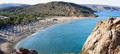 Постер, плакат: Famous Palm Beach Of Vai Island Of Crete Greece