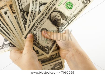 Holding Dollars