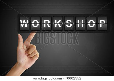 Hand Pushing Workshop On Flip Board