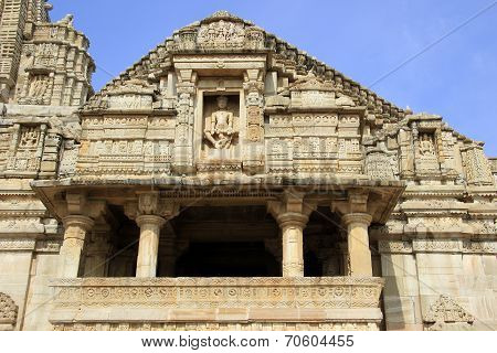 Facade Of Meera Temple