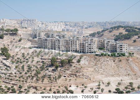 Israel housing estate in Palestine